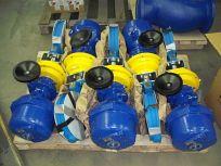 Arcelor Mittal - dodávka klapek  dvouxcentrických s těsněním  kov x kov s pohony BERNARD (s havarijní funkcí)