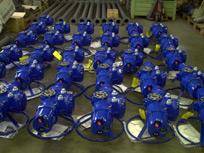 Dodávka pohonů Limitorque Eex pro MSA a.s. na kulové kohouty – akce Korea