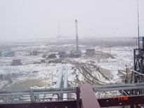 Rusko – ropný vrt Juzhnaja Shapka, montáže pohonů Bettis