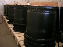 Severočeské doly a.s. - dodávka ucpávkových kompenzátorů DN 400 PN10